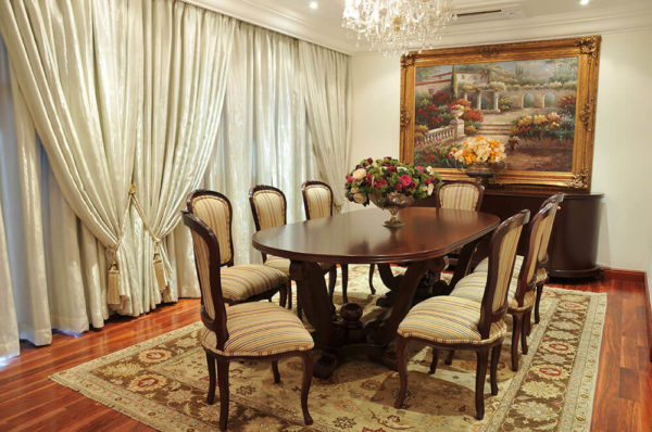 Christy Oval Dining Table - Solid Top